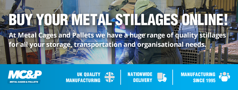 Buy all your metal stillages online through our brand-new ecommerce website! blog image