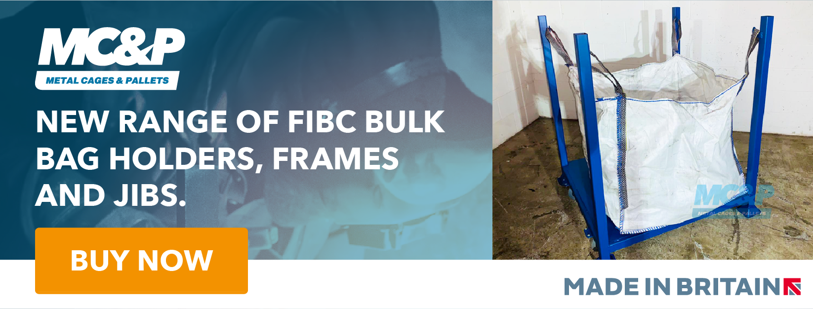 FIBC Bag Holders, Frames and Jibs - Buy Now
