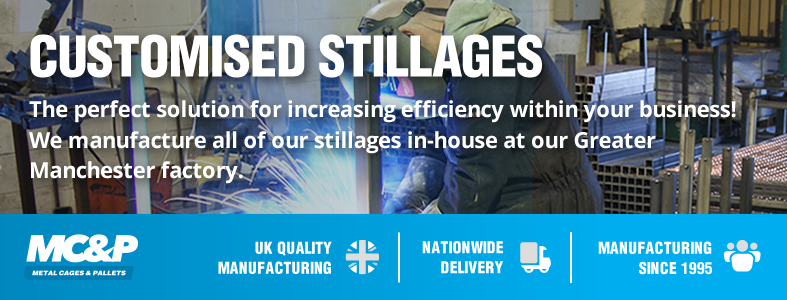 Improve business efficiency with MC&P's customised metal stillages header image