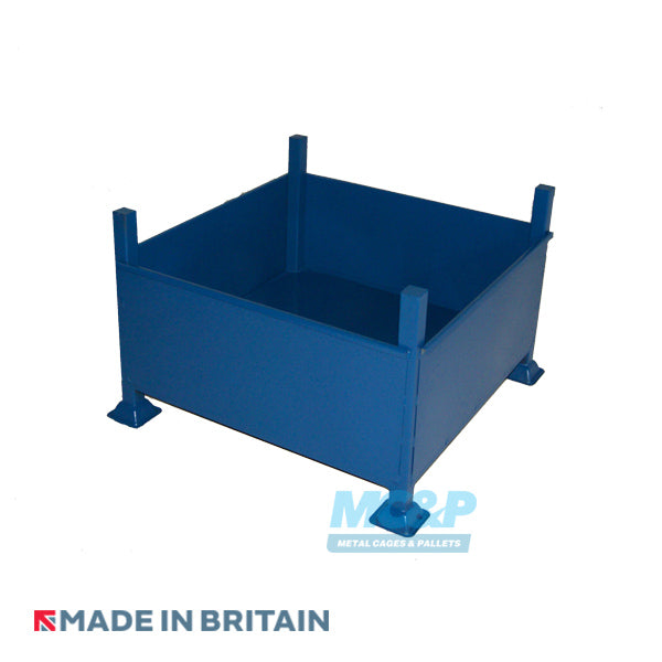 Metal/Steel Stillage (Pallet) with Solid Sides for RENTAL
