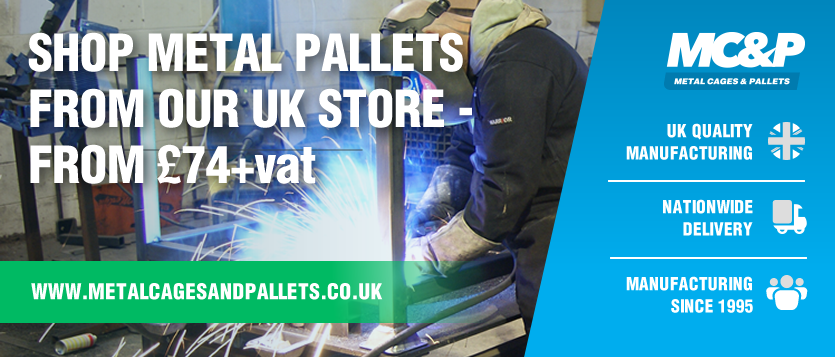 Shop Metal Pallets from our UK store