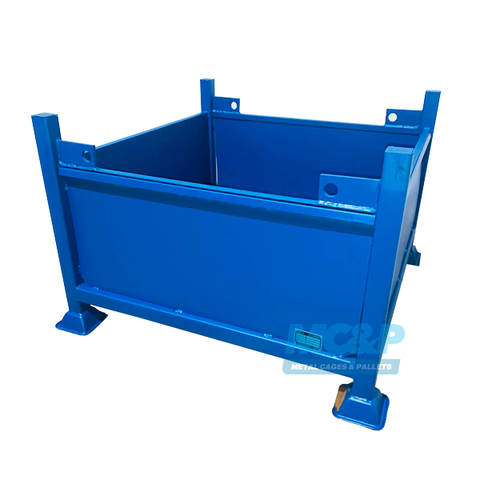 Crane lift stillage with solid sides – from £210+vat
