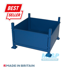 Metal/Steel Stillage (Pallet) with Solid Sides and Detachable Front
