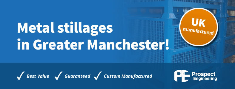 Metal stillages in Greater Manchester Image