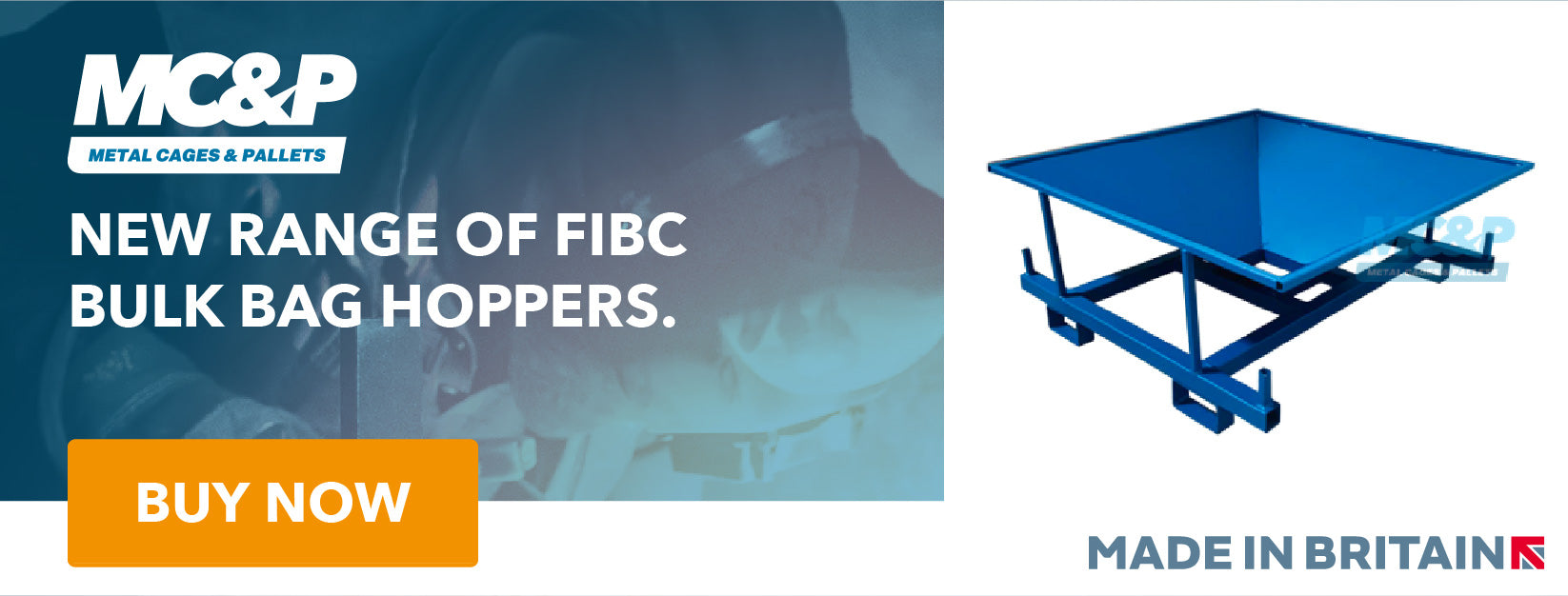 FIBC Bulk Bag/Tonne Bag Hopper Range Now Available From £328+Vat. Buy Now.