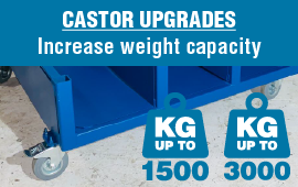 Upgrade your Stillage Castors