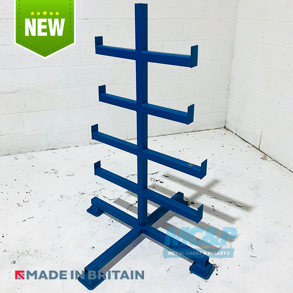 Double Side Bar Storage Rack