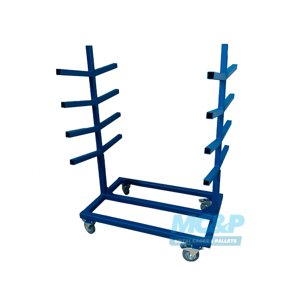 Pipe Rack With Demountable Legs