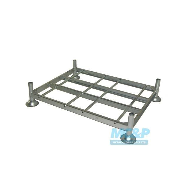 Galvanised Metal/Steel Post Stillage (Pallet) with Demountable Legs product image 2