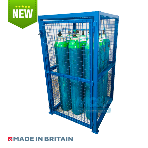 Heavy Duty Cas Cage for Gas Bottle Storage