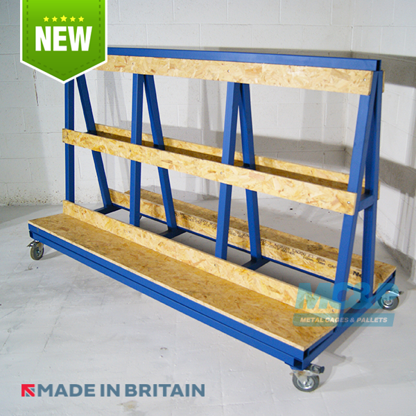 A Frame Stillage, ideal for Glass