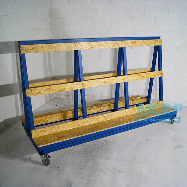 Heavy Duty A Frame Stillage, ideal for Glass