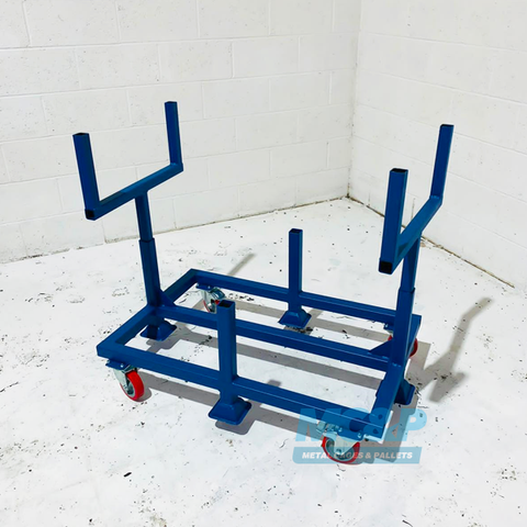 Mobile Pipe & Bar Trolley