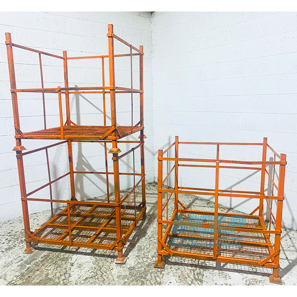 Used Metal Pallet Cages (or stillages) For Sale - Buy Now £60+VAT
