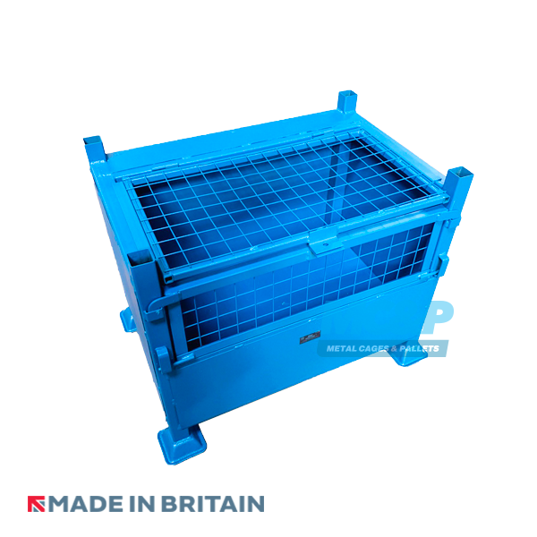 Large Lockable Site Box with Mesh Inserts