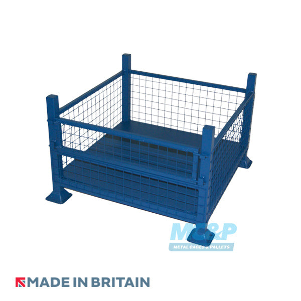 Metal/Steel Half Drop Fronted Mesh Stillage product image 1