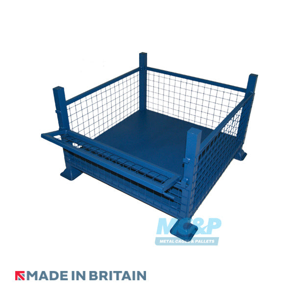 Metal/Steel Half Drop Fronted Mesh Stillage product image 2