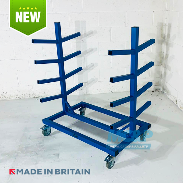 Pipe, Rod Storage Rack Stillage With 4 Racks