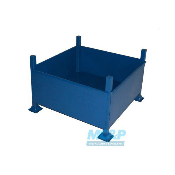 Metal Storage Stillage with Sheet Sides