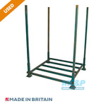 Used Metal Post Pallet With Demountable Legs