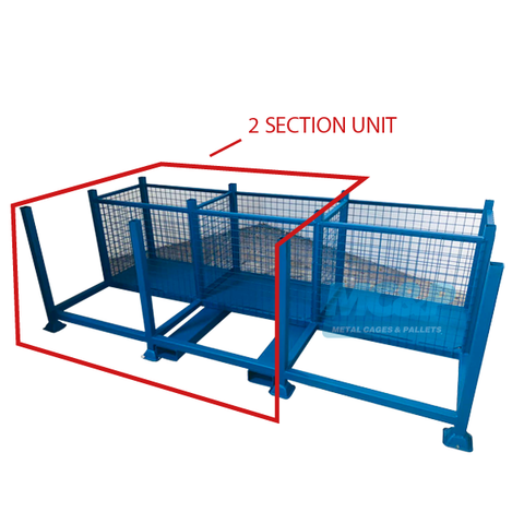 Pipe Rack and Storage Cage