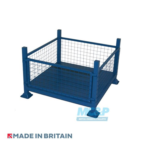 Mesh Side Stillage With Removable Front
