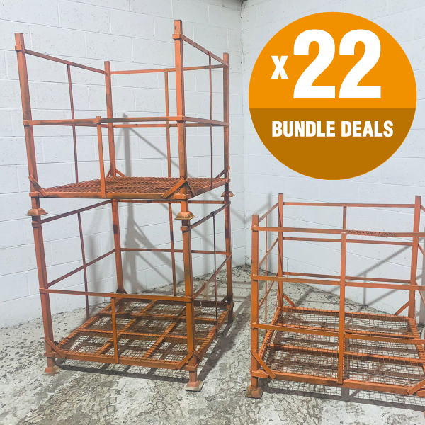 Used Metal Pallet Cages for Sale. Shop Now.