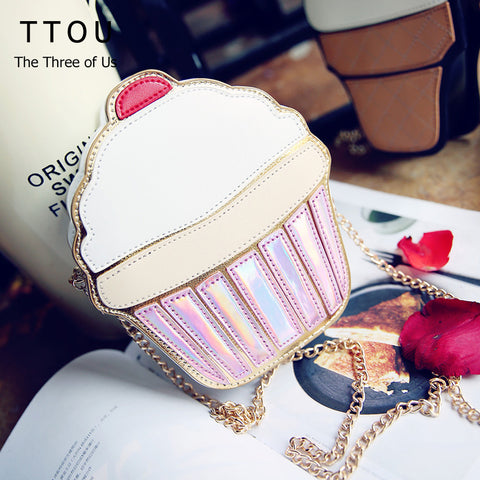Trendy cupcake, popcorn shape crossbody bag - The Trendy Twist