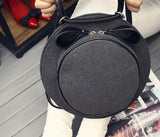 Cute hat round shaped trendy shoulder bag - The Trendy Twist