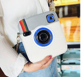 Unique Camera Shaped Snapshot Clutch Crossbody Bag - The Trendy Twist
