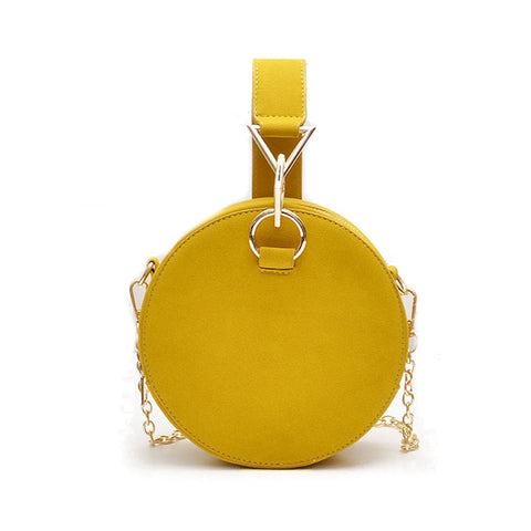 Stylish round shaped evening party bags
