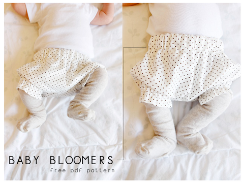 Baby Bloomer Sewing Pattern