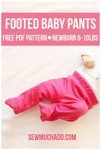 Baby Pants Sewing Pattern
