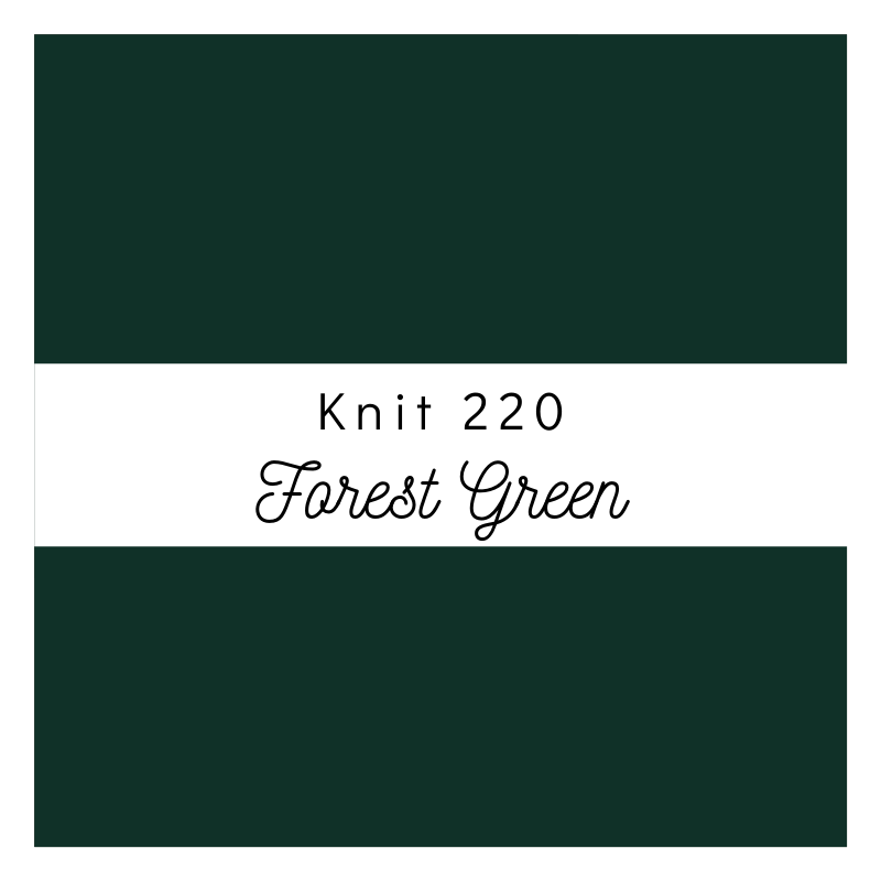 Forest Green - Premium Knit 220
