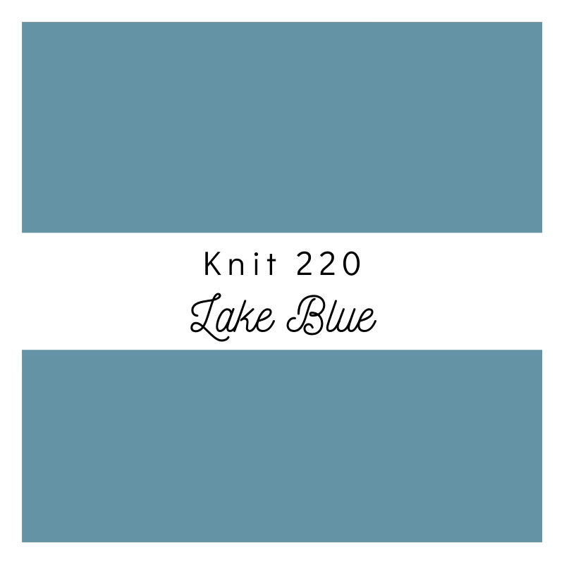 Lake Blue - Premium Knit 220