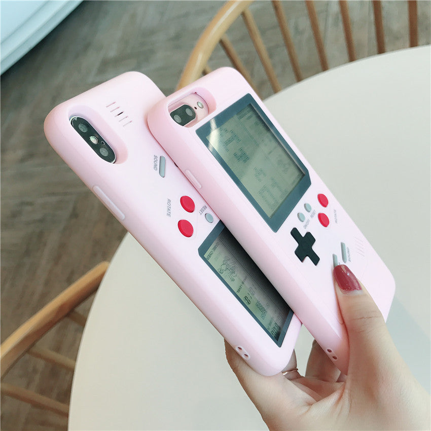 low priced 3ca97 ca183 Nintendo Game boy Tetris Shockproof Case for iPhone XS MAX XS XR X 8 8p 7 7p