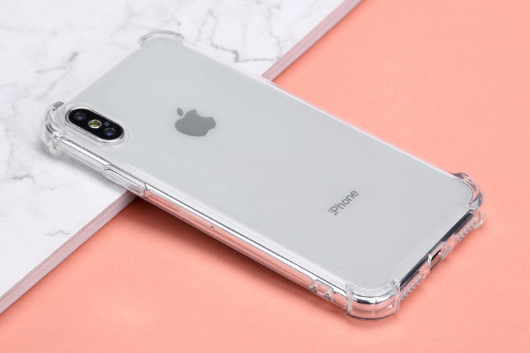 info for 8a44d 051fc Rainbow airbag corner anti-shock and scratch bumper case with lanyard hole  for iPhone Xs Xs Max XR