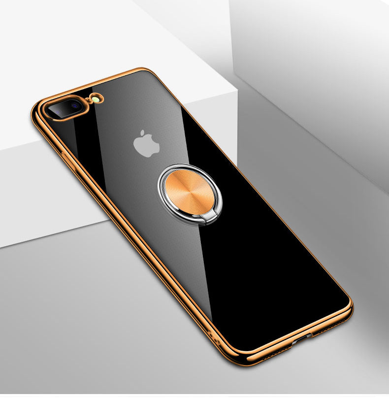 buy popular 06706 b8e51 iPhoneXS XS Max XR ultra slim lanyard Case with 360 Degree Ring kickstand  Car Magnetic Holder shockproof transparent Clear Case