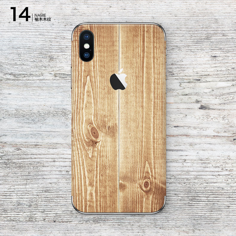 SkinAT iPhone X skin mobile phone creative personality decorative ...