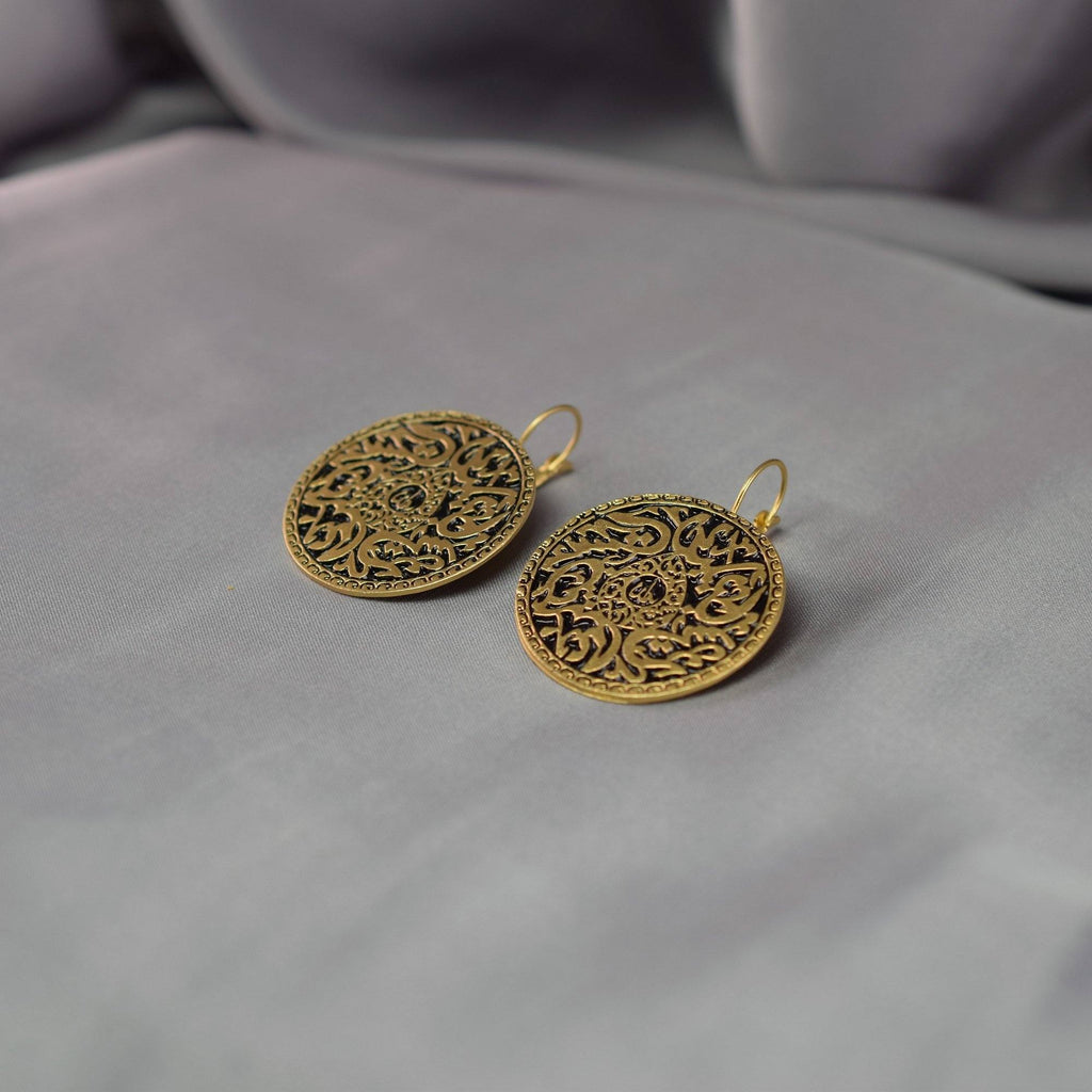 Calligraphic Earrings