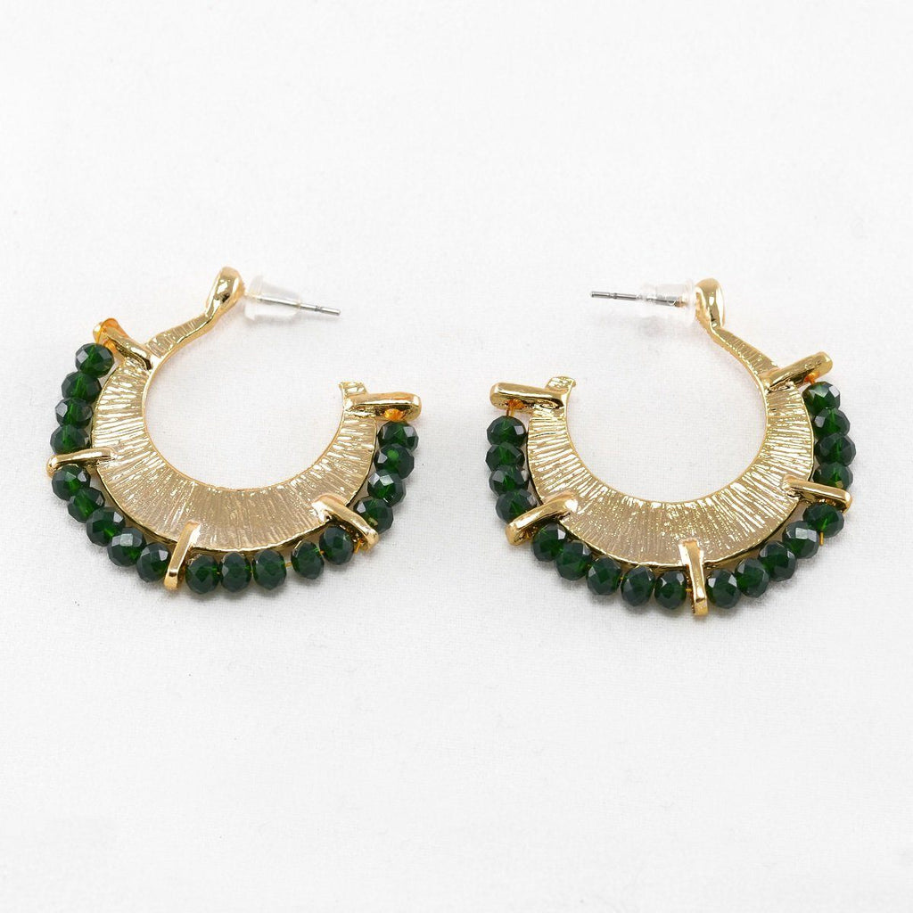 Traditional Earrings Green