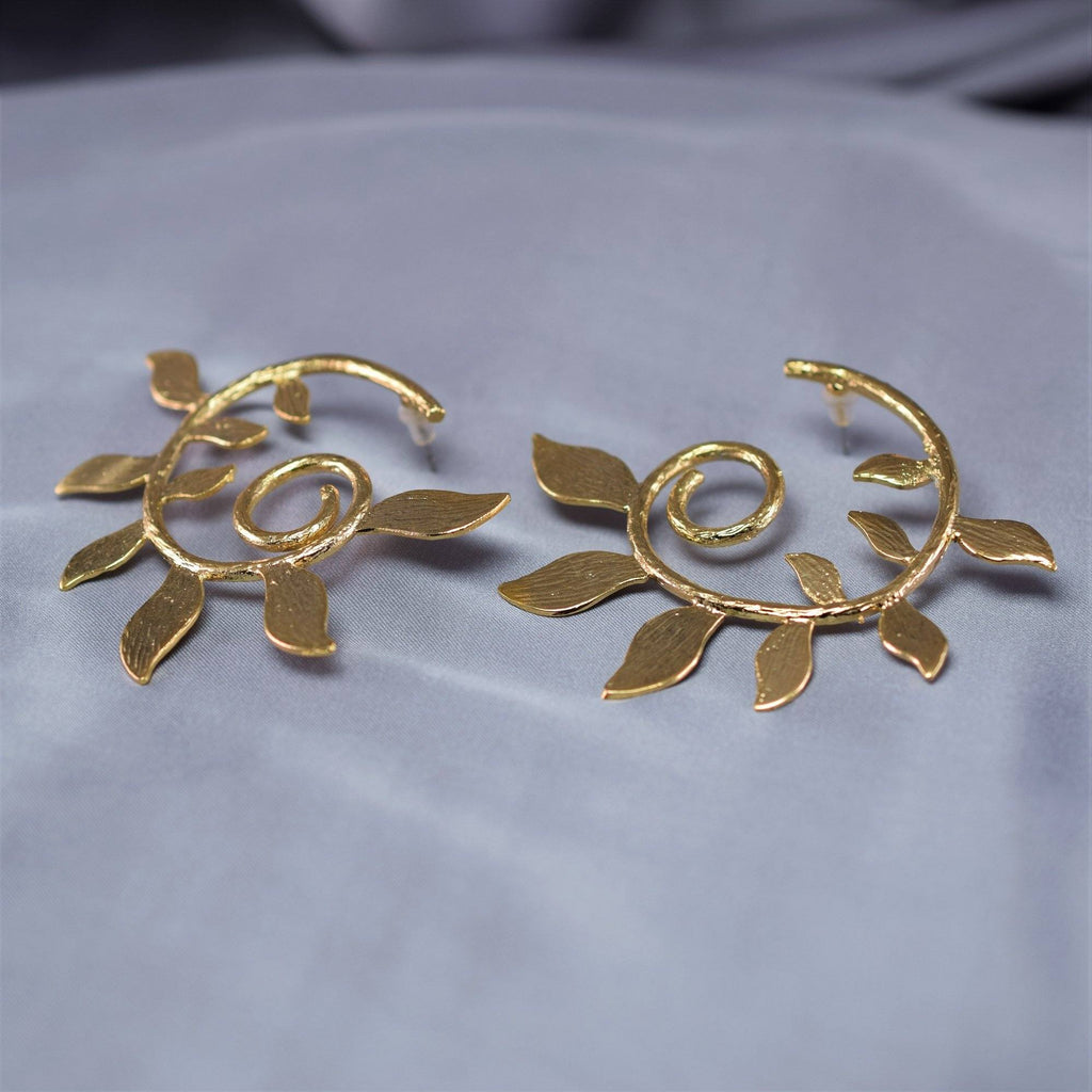 Leaf Flarey Earrings