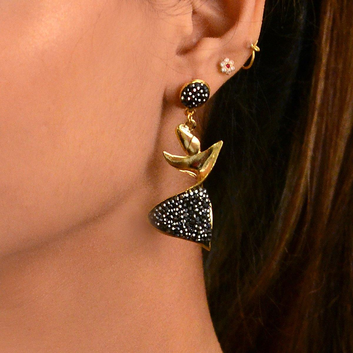 Dervish Marcasite Earrings