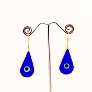 Evil Eye Drop Earrings