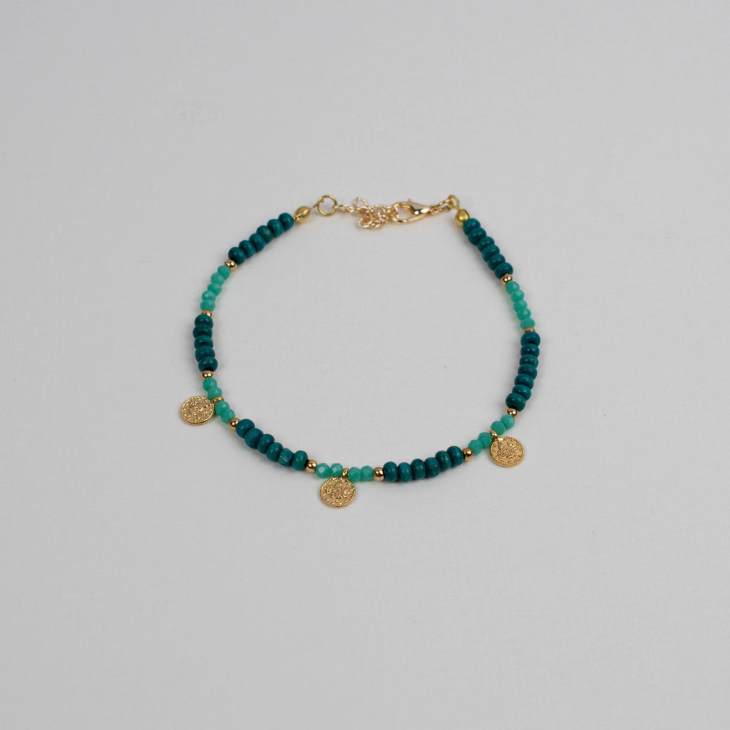 Coin Bead Anklet