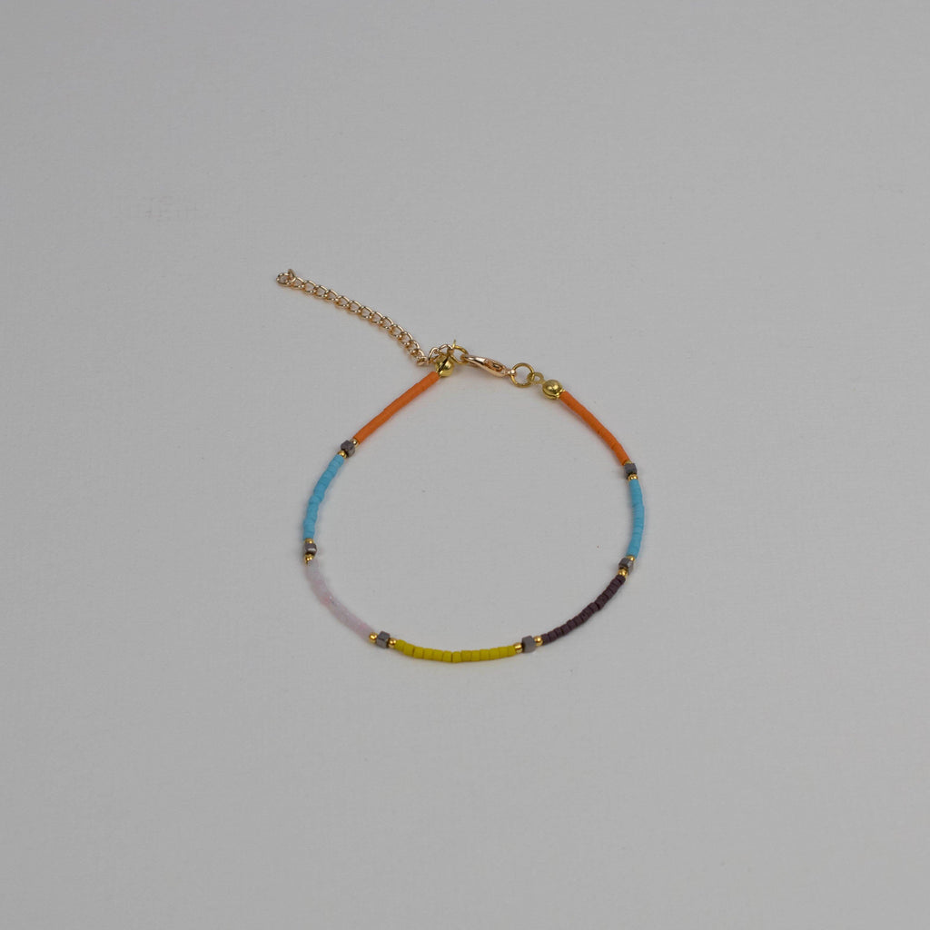 Rays Of Colour Anklet