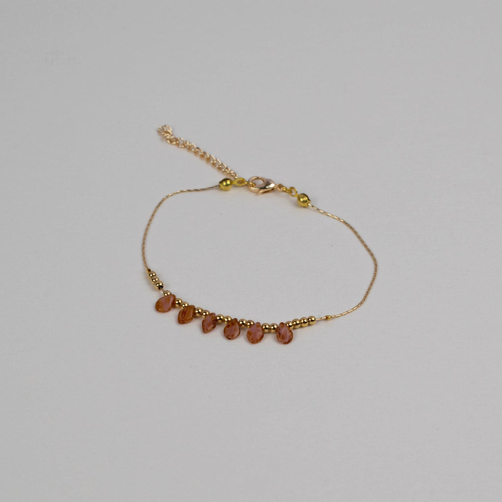 Simple Stone Anklet