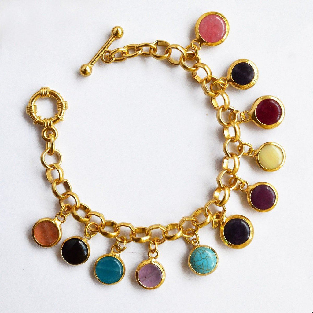 Cocktail Stones Bracelet