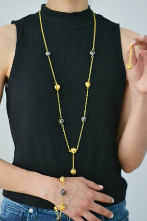 Mesh Gold-plated Set