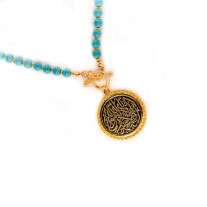 Turquoisa Kalima Necklace